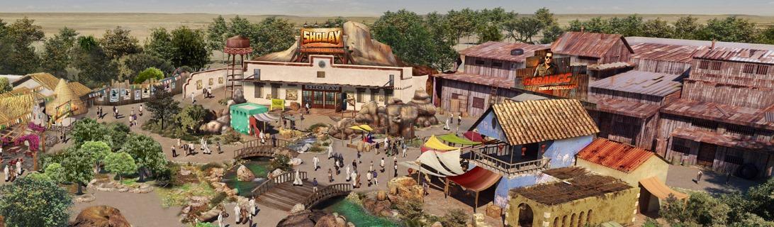The World's First Bollywood Theme Park in Dubai