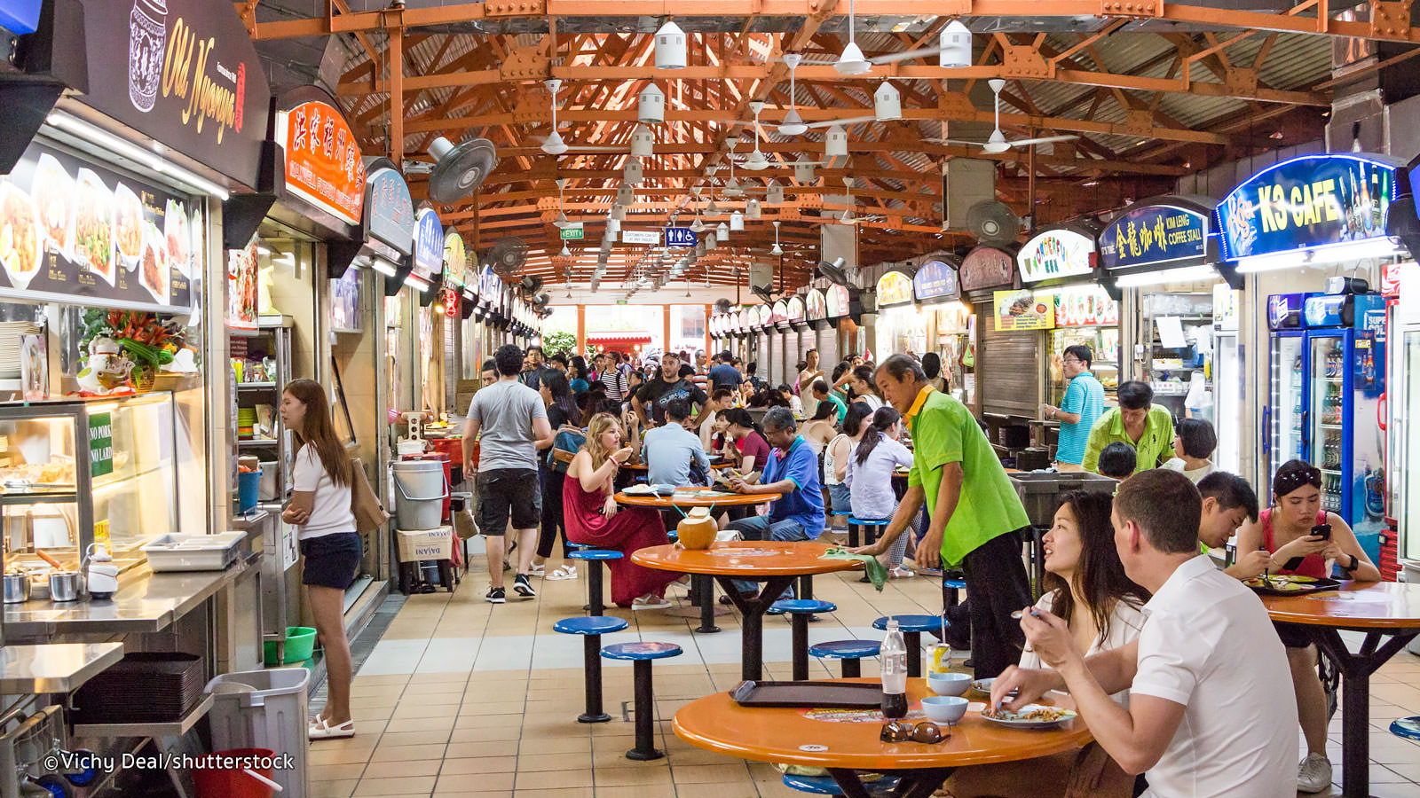 Singapore Hawker Centres