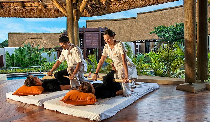 Mauritius couples massage