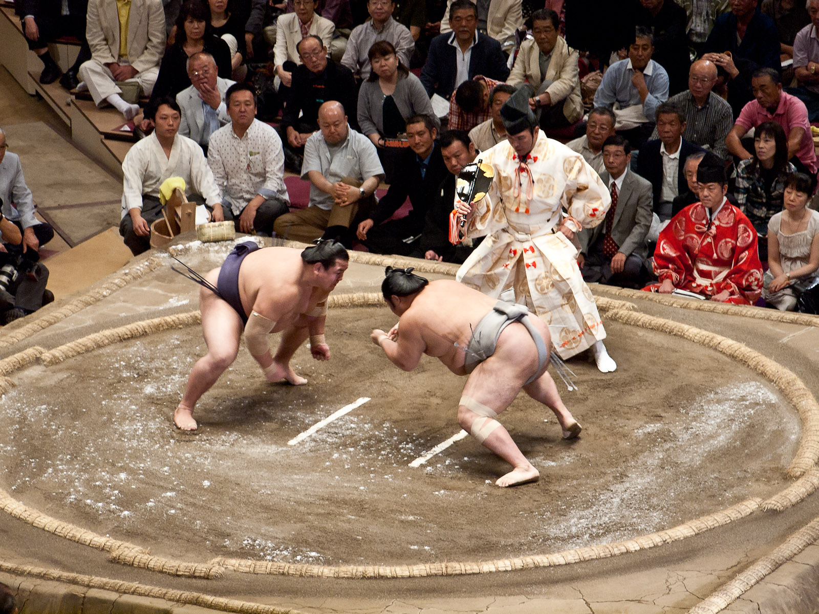 Nothing Can Get as Big as Japan's Sumo Wrestling
